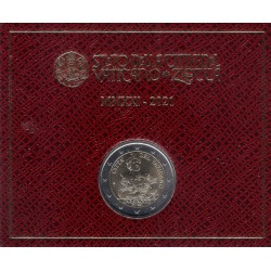 Ciudad del Vaticano. 2021. 2 Euro (SC) Caravaggio