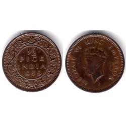 (528) India Británica. 1939. ½ Pice (MBC)