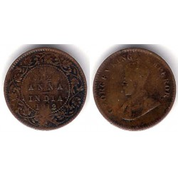 (509) India Británica. 1912. 1/12 Anna (BC)
