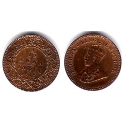 (509) India Británica. 1915. 1/12 Anna (SC)