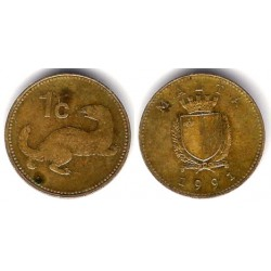 (93) Malta. 1991. 1 Cent (BC)