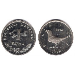 (9.2) Croacia. 1999. 1 Kuna (EBC)