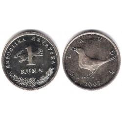 (9.1) Croacia. 2005. 1 Kuna (MBC)