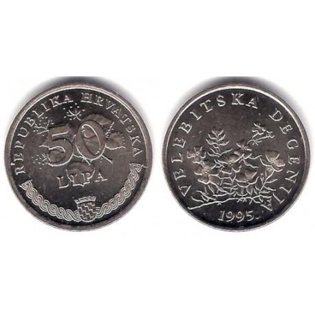 (8) Croacia. 1995. 50 Lipa (SC)