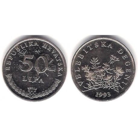 (8) Croacia. 1993. 50 Lipa (SC)