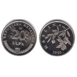 (7) Croacia. 1995. 20 Lipa (SC)