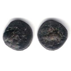 Imperio Seléucida (Antiochos VI). 148-138 a.C. Bronze 10mm (BC)