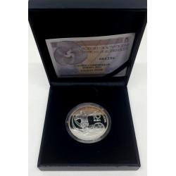 España. 2012. 10 Euro (Proof) (Plata) Campeones de Europa