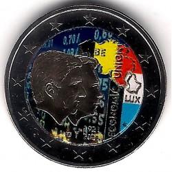 Bélgica. 2021. 2 Euro (SC) Coloreada