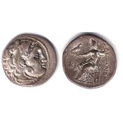Imperio Macedonio. 310-301 a.C. Dracma (MBC) (Plata)