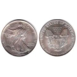 (273) Estados Unidos de América. 1993. 1 Dollar (SC) (Plata)