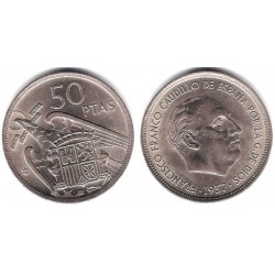 Estado Español. 1957*(59). 50 Pesetas (EBC)