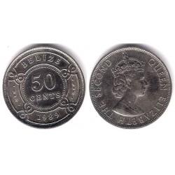 (37) Belice. 1989. 50 Cents (SC)