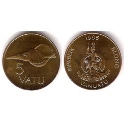 (5) Vanuatu. 1995. 5 Vatu (SC)