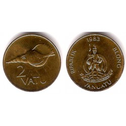 (4) Vanuatu. 1983. 2 Vatu (SC)