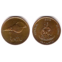 (3) Vanuatu. 1999. 1 Vatu (SC)