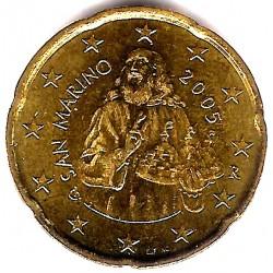 San Marino. 2005. 20 Céntimos (SC)