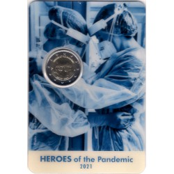 Malta. 2021. 2 Euro (SC) Heroes of the Pandemic