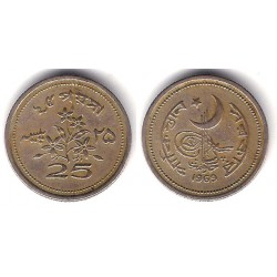 (30) Pakistán. 1969. 25 Paisa (MBC)
