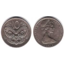 (41.1) Nueva Zelanda. 1978. 10 Cents (MBC)