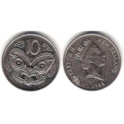 (61) Nueva Zelanda. 1988. 10 Cents (MBC)