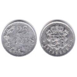 (45a.1) Luxemburgo. 1967. 25 Cents (MBC)