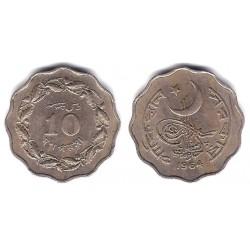 (27) Pakistán. 1964. 10 Paisa (MBC)