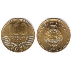 (240) Costa Rica. 2000. 100 Colones (EBC+)