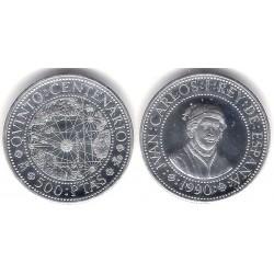 España. 1990. 500 Pesetas (SC) (Plata) 6,75 gr. de .925