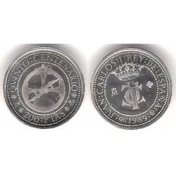España. 1989. 200 Pesetas (SC) (Plata) 3,37gr. de .925