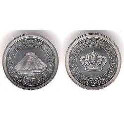 España. 1989. 100 Pesetas (SC) (Plata) 1,68gr. de .925
