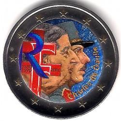 Francia. 2020. 2 Euro (SC) Coloreada