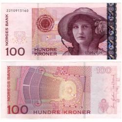 (49b) Noruega. 2004. 100 Kroner (EBC)