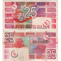 (100) Países Bajos. 1989. 25 Gulden (BC)