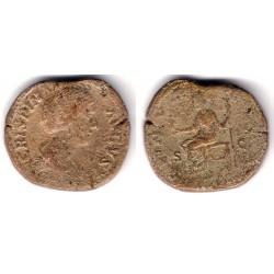 Crispina. 177-183 d.C. Sestercio (BC)