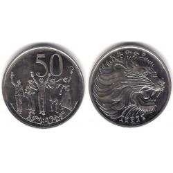 (47) Etiopía. 1969EE. 50 Cents (SC)