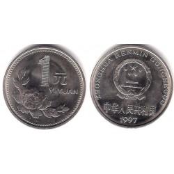 (337) China. 1997. 1 Yuan (EBC)