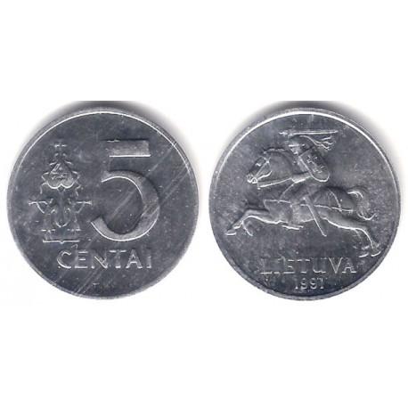 (87) Lituania. 1991. 5 Centai (SC-)