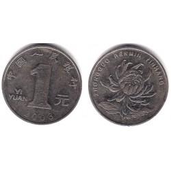 (1212) China. 2003. 1 Yuan (MBC)