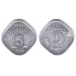 (35) Pakistán. 1974. 5 Paisa (EBC)