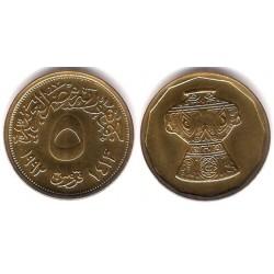 (731) Egipto. 1992. 5 Piastres (SC)