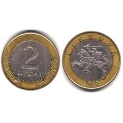 (112) Lituania. 1999. 2 Litai (MBC)