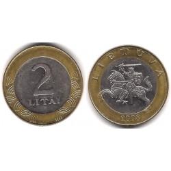 (112) Lituania. 2008. 2 Litai (MBC)