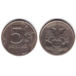(Y606) Rusia. 1997. 5 Roubles (MBC)