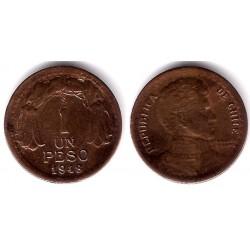 (179) Chile. 1948. 1 Peso (BC+)