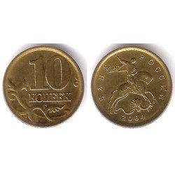 (Y602) Rusia. 2004. 10 Kopeks (EBC)