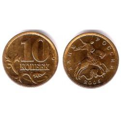 (Y602) Rusia. 2005. 10 Kopeks (SC)