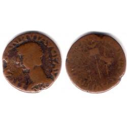 Colona Julia Augusta (Elche). 14-36 d.C. Semis (BC/BC+)