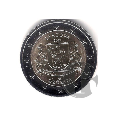 Lituania. 2021. 2 Euro (SC) Dzukija