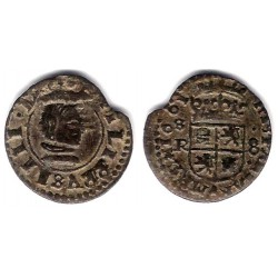 Felipe IV. 1661. 8 Maravedi (MBC) Ceca de Sevilla R
